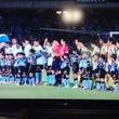 仙台でもサッカー…。