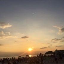初めての内海、砂浜か…
