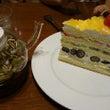 食後のケーキ