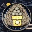 お月見団子の巻き寿司…