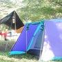 二人キャンプ\(^▽…