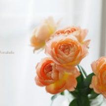 花を飾ると