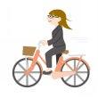 自転車をこぐと、ふく…