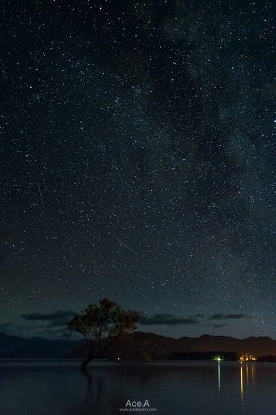 ワナカの星空