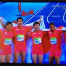 日本男子400mリレ…