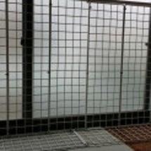 保護部屋の窓
