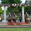 自治会夏祭りで演奏