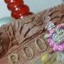 ピンク の シーサー…