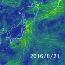 台風と地震