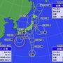 台風9号通過中〜