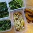 今日は野菜ゆでる日だ…
