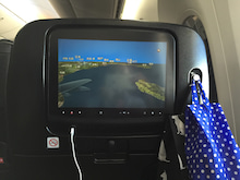 日本航空787ポーチ