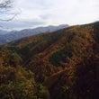 南アルプス周辺の紅葉…