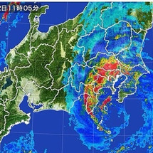 台風9号と 幻の湖 …