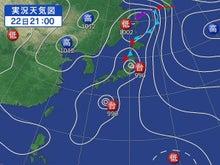 台風は重力で引き合い弱め合い消滅する