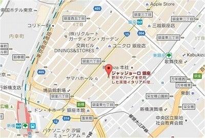 東銀座ランチ会地図0915