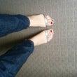 あ、足の色かえた?
