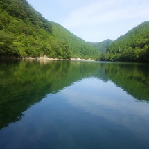 生野銀山湖!