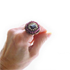 ガーネットビーズ刺繍リング/指輪