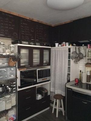 キッチン 食器棚移動