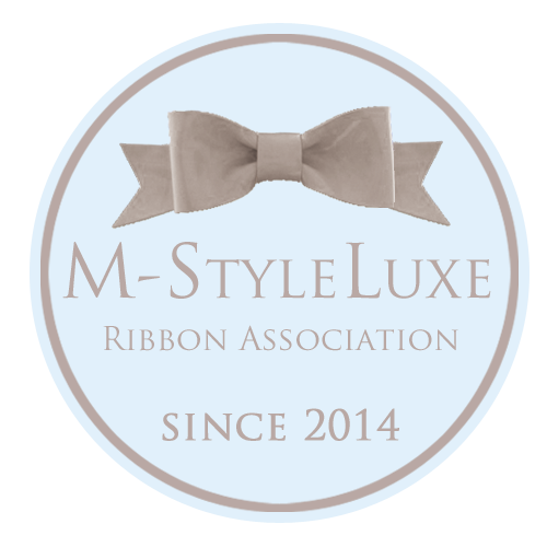 m-style ribbon luxe