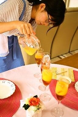柏料理教室 セパレートティー ジュース