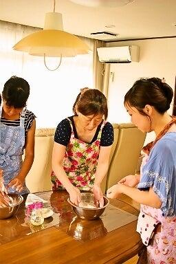 柏オーガニック料理教室 米粉スコーン 生地