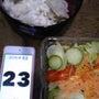 23日の食事夜写真