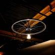 自転車好きが作る照明…