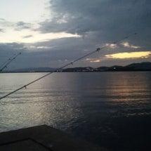 #今夜も鰻の夜釣り