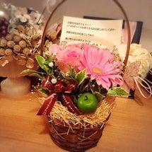 お誕生日にお花をプレ…