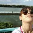 台風後の多摩川競艇