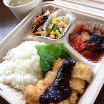 本日高野豆腐かつ弁当…