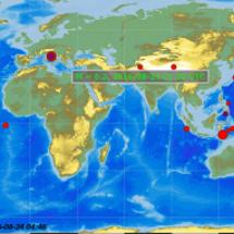 イタリアで大きな地震