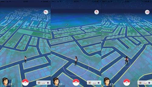 仙台のポケモンの地図