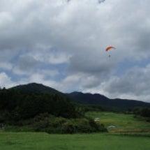 8月24日 曇り 飛…