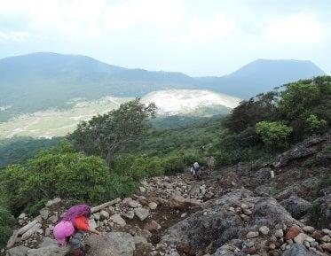 韓国岳 登山口