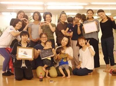 宮崎 川南 ベビーマッサージ ストレッチ イベント 復興応援 チャリティー