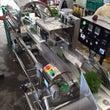 自動野菜包装機のデモ…