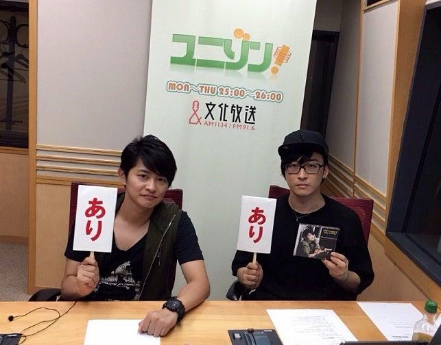 関智一のユニゾン!(2015.11.16 OA)   「ユニゾン!」公式ブログ