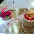 バラとハートのケーキ…