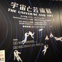 宇宙と芸術展へ行って…