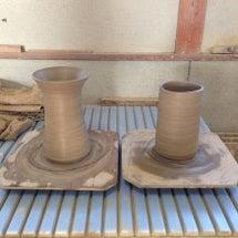 陶芸教室-花瓶。