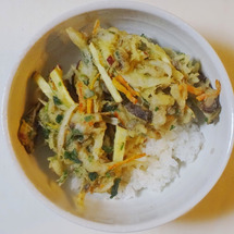 キノコと根野菜のかき…