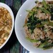 豚肉と小松菜のオイス…