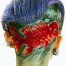 金魚ヘアー~バリカン…