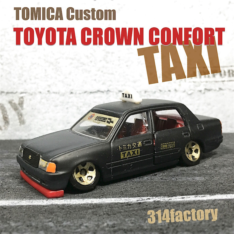 TomicaCustomCrownConfortTAXI