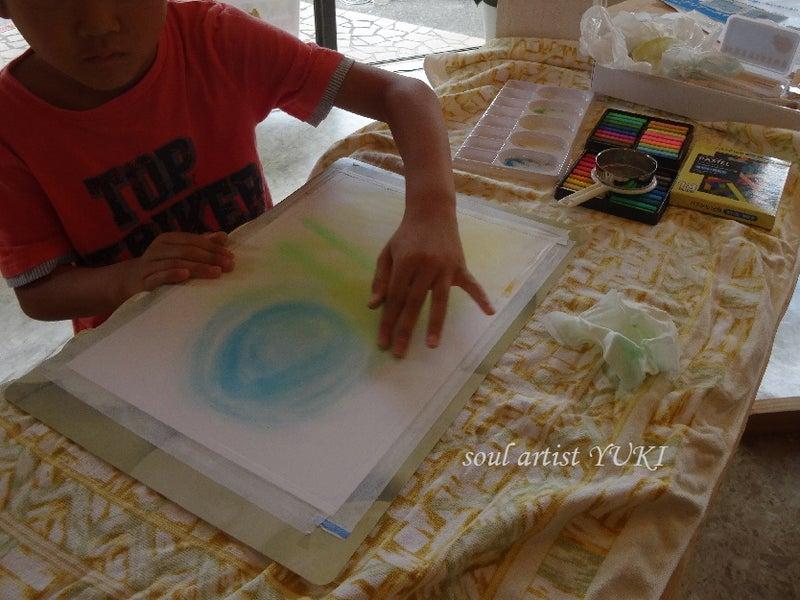 心に光が射すアート個展YUKI生みたて原画