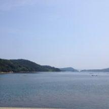高島景色の良い海の見…