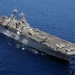 米国の強襲揚陸艦が東…